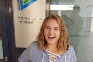 Anna Benetka - Lehrling im Österreichischen Patentamt