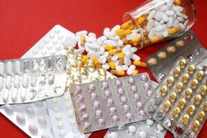 Bild von verschiedenen Pillen