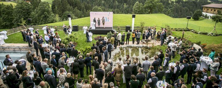 """Foto von der Veranstaltung """"Patente Cocktail"""" in Alpbach"""