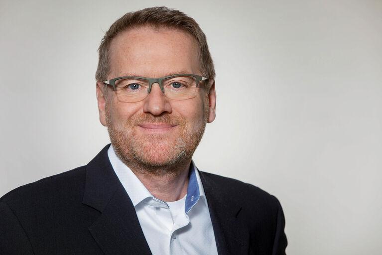 Portrait von Pressesprecher Christian Laufer