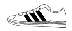 Adidas, deutsche Marke Nr. 39950559