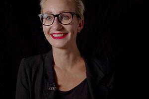 Portrait of Professor Miriam M. Unterlass