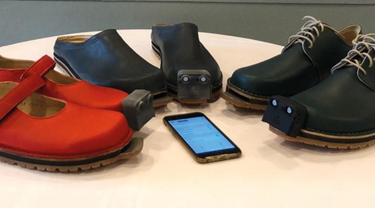 InnoMake Aufsteck-Vorrichtung auf Schuhen