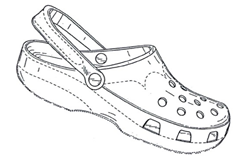 Crocs, Gemeinschaftsgeschmacksmuster Nr. 257001