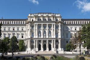 Foto des Justizpalastes in Wien