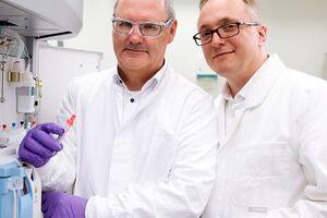 European Inventor Award Finalisten Jan van den Boogaart und Oliver Hayden