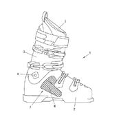 Zeichnung eines Schischuhs aus der Patentschrift AT517213