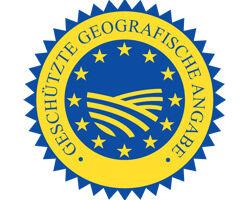Zeichen geschützte geografische Angabe
